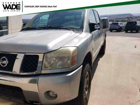 2004 Nissan Titan for sale at Stephen Wade Pre-Owned Supercenter in Saint George UT
