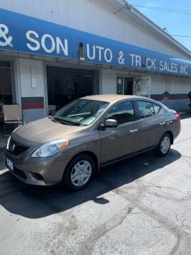 2012 Nissan Versa for sale at Bill's & Son Auto/Truck Inc in Ravenna OH
