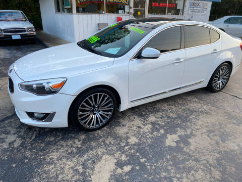 2014 Kia Cadenza for sale at TOP OF THE LINE AUTO SALES in Fayetteville NC