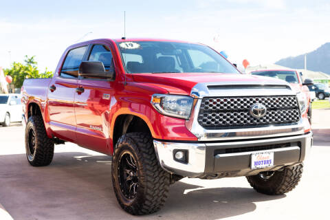 2019 Toyota Tundra for sale at Ohana Motors - Lifted Vehicles in Lihue HI