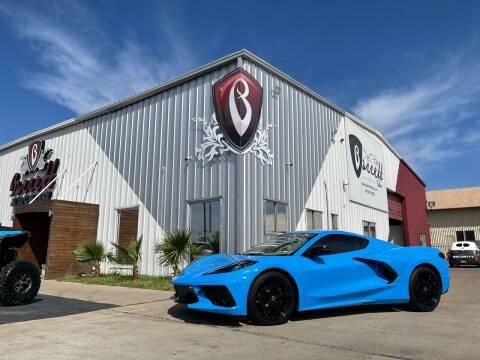 2020 Chevrolet Corvette for sale at Barrett Auto Gallery in San Juan TX