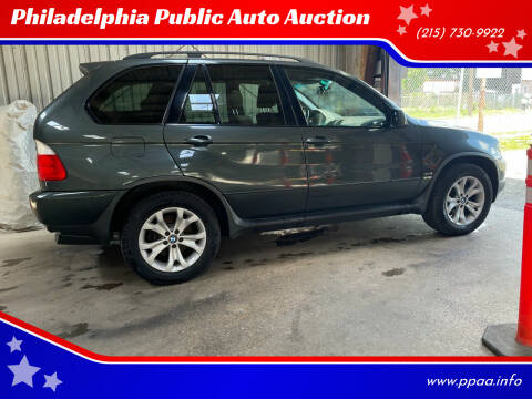 2006 BMW X5 for sale at Philadelphia Public Auto Auction in Philadelphia PA