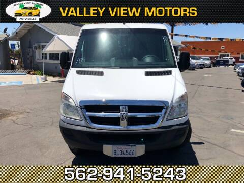 2007 Dodge Sprinter Cargo for sale at Valley View Motors in Whittier CA