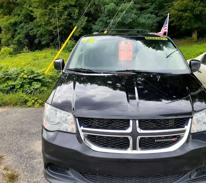 2016 Dodge Grand Caravan for sale at Kenny's Korner in Hartland MI