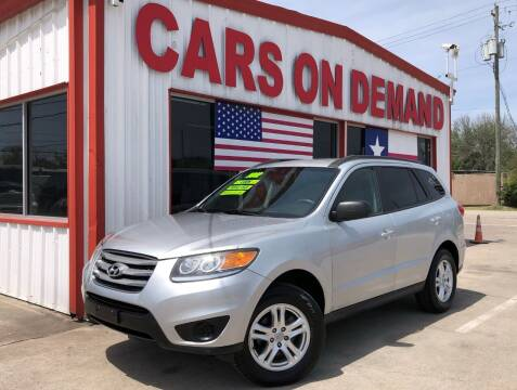 2012 Hyundai Santa Fe for sale at Cars On Demand 2 in Pasadena TX
