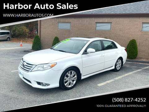 2011 Toyota Avalon for sale at Harbor Auto Sales in Hyannis MA