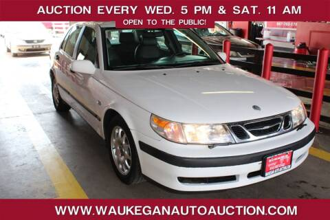 2001 Saab 9-5 for sale at Waukegan Auto Auction in Waukegan IL
