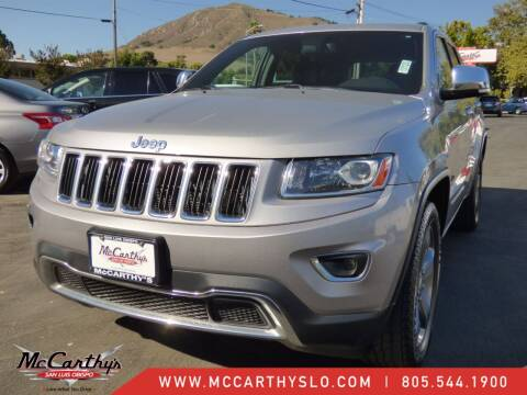 2014 Jeep Grand Cherokee for sale at McCarthy Wholesale in San Luis Obispo CA
