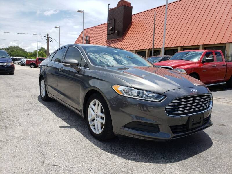 2016 Ford Fusion for sale at City Automotive Center in Orlando FL