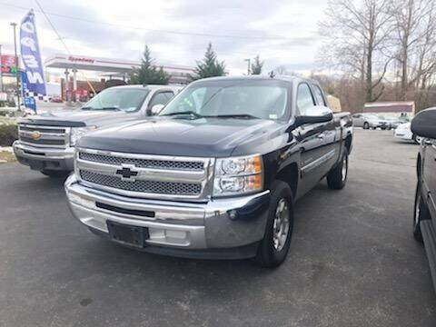 2013 Chevrolet Silverado 1500 for sale at Regional Auto Sales in Madison Heights VA