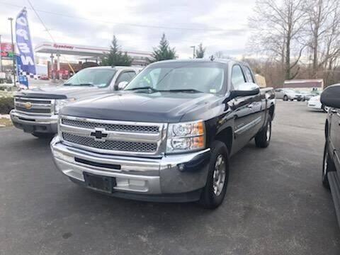 2013 Chevrolet Silverado 1500 for sale at Regional Auto Sales in Madison Heights VA