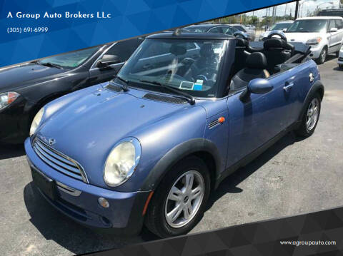 2007 MINI Cooper for sale at A Group Auto Brokers LLc in Opa-Locka FL