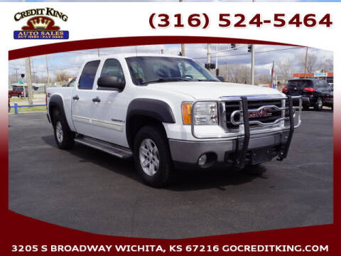 2008 GMC Sierra 1500 for sale at Credit King Auto Sales in Wichita KS
