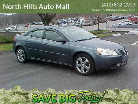 2006 Pontiac G6 for sale at North Hills Auto Mall in Pittsburgh PA