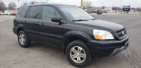 2004 Honda Pilot for sale at speedy auto sales in Indianapolis IN