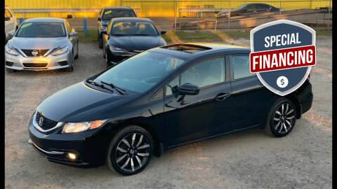2015 Honda Civic for sale at Go Smart Car Sales LLC in Winter Garden FL