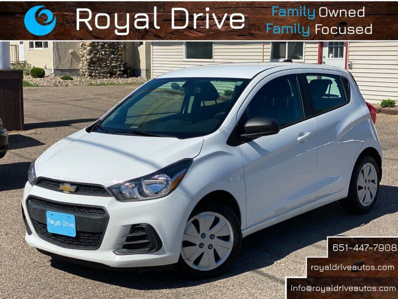 2018 Chevrolet Spark for sale at Royal Drive in Newport MN