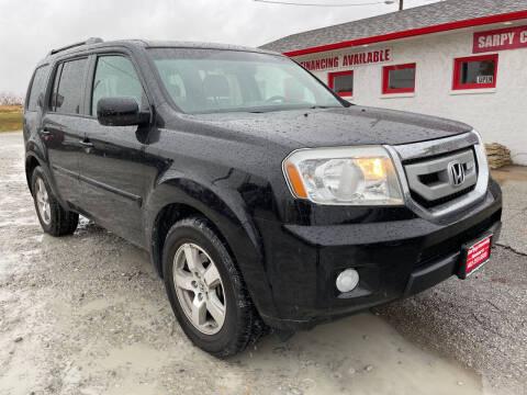 2011 Honda Pilot for sale at Sarpy County Motors in Springfield NE