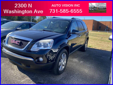 2012 GMC Acadia for sale at Auto Vision Inc. in Brownsville TN