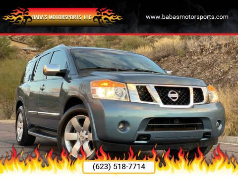 2011 Nissan Armada for sale at Baba's Motorsports, LLC in Phoenix AZ