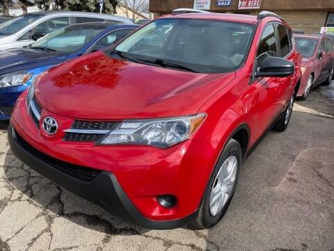 2015 Toyota RAV4 for sale at NORTH CHICAGO MOTORS INC in North Chicago IL