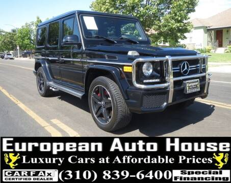 2013 Mercedes-Benz G-Class for sale at European Auto House in Los Angeles CA