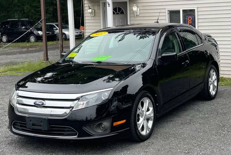 2012 Ford Fusion for sale at Landmark Auto Sales Inc in Attleboro MA