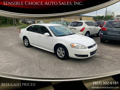 2011 Chevrolet Impala for sale at Sensible Choice Auto Sales, Inc. in Longwood FL