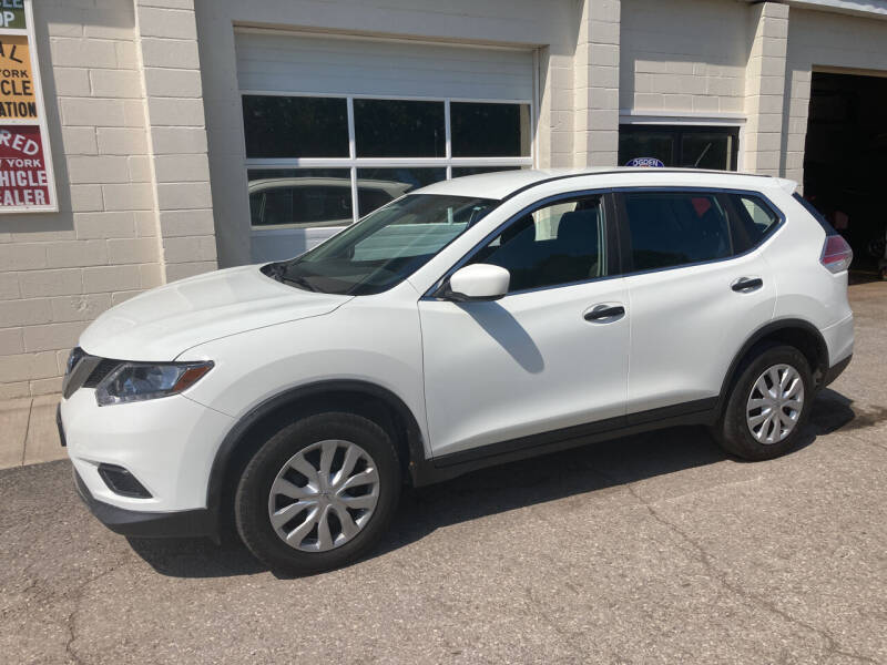 2016 Nissan Rogue for sale at Ogden Auto Sales LLC in Spencerport NY
