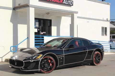2013 Maserati GranTurismo for sale at Fastrack Auto Inc in Rosemead CA