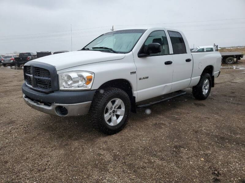 2008 Dodge Ram Pickup 1500 for sale at HORSEPOWER AUTO BROKERS in Fort Collins CO