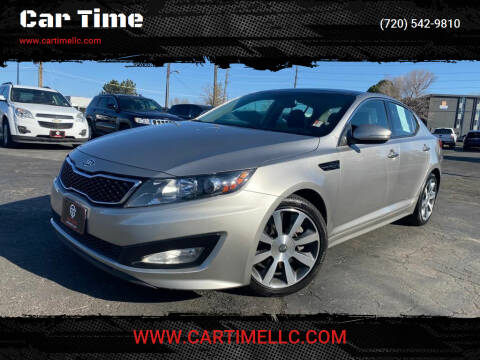 2012 Kia Optima for sale at Car Time in Denver CO