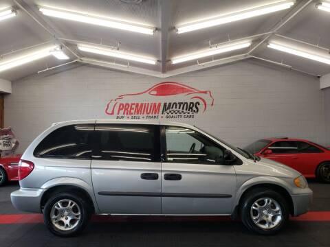 2003 Dodge Caravan for sale at Premium Motors in Villa Park IL