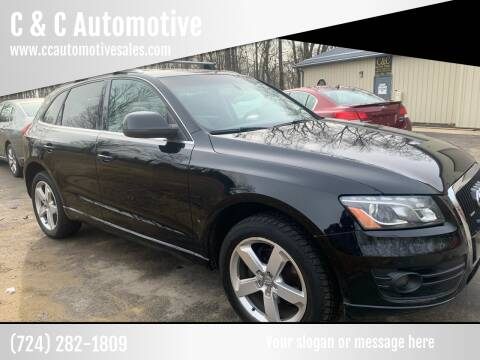 2009 Audi Q5 for sale at C & C Automotive in Chicora PA