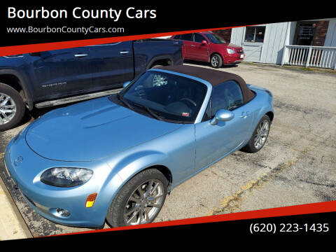 2008 Mazda MX-5 Miata for sale at Bourbon County Cars in Fort Scott KS