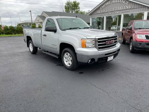 2012 GMC Sierra 1500 for sale at Empire Alliance Inc. in West Coxsackie NY