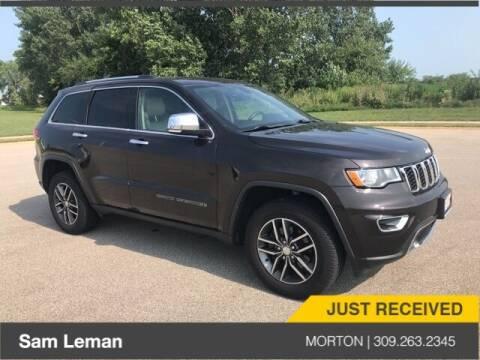 2017 Jeep Grand Cherokee for sale at Sam Leman CDJRF Morton in Morton IL