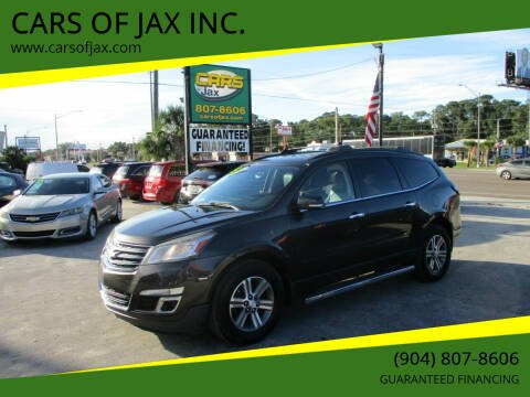 2015 Chevrolet Traverse for sale at CARS OF JAX INC. in Jacksonville FL