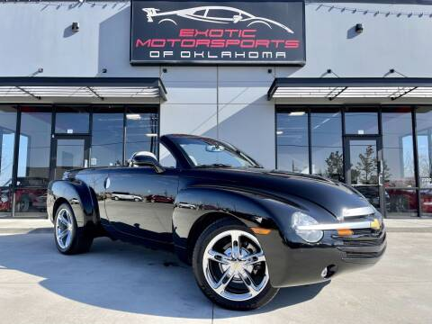 2004 Chevrolet SSR for sale at Exotic Motorsports of Oklahoma in Edmond OK