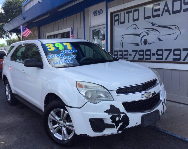2012 Chevrolet Equinox for sale at AUTO LEADS in Pasadena TX
