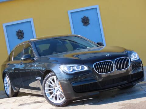 2014 BMW 7 Series for sale at Paradise Motor Sports LLC in Lexington KY