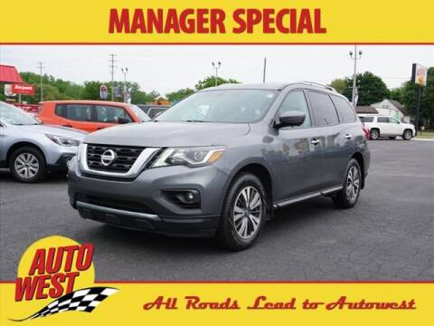 2017 Nissan Pathfinder for sale at Autowest of GR in Grand Rapids MI