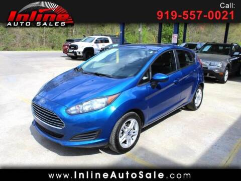 2019 Ford Fiesta for sale at Inline Auto Sales in Fuquay Varina NC