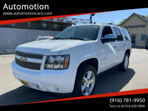 2008 Chevrolet Tahoe for sale at Automotion in Roseville CA
