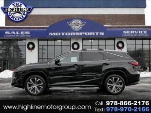 2018 Lexus RX 350L for sale at Highline Group Motorsports in Lowell MA