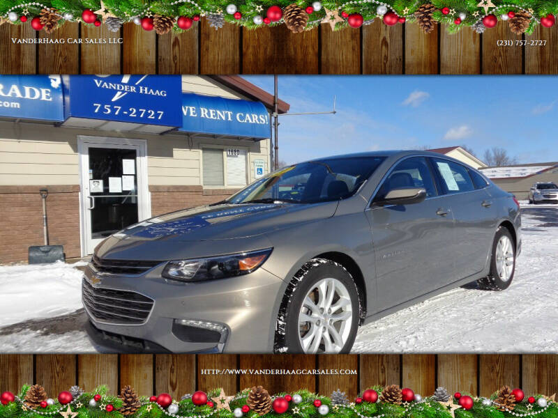 2017 Chevrolet Malibu for sale at VanderHaag Car Sales LLC in Scottville MI
