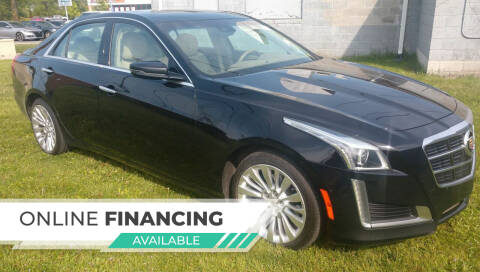 2014 Cadillac CTS for sale at Auto Financial Group LLC in Flat Rock MI