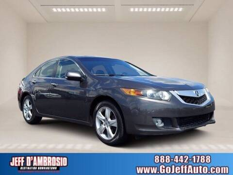 2009 Acura TSX for sale at Jeff D'Ambrosio Auto Group in Downingtown PA