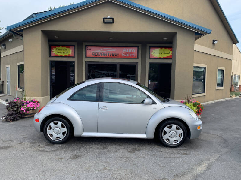 2001 Volkswagen New Beetle for sale at Advantage Auto Sales in Garden City ID