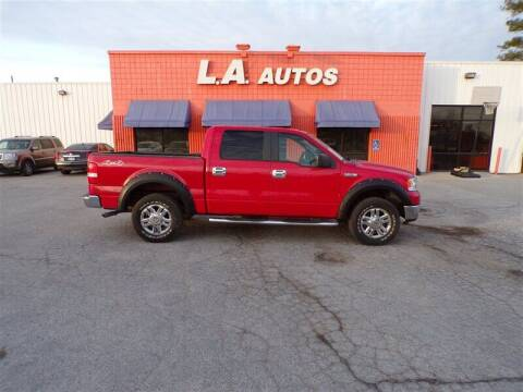 2007 Ford F-150 for sale at L A AUTOS in Omaha NE